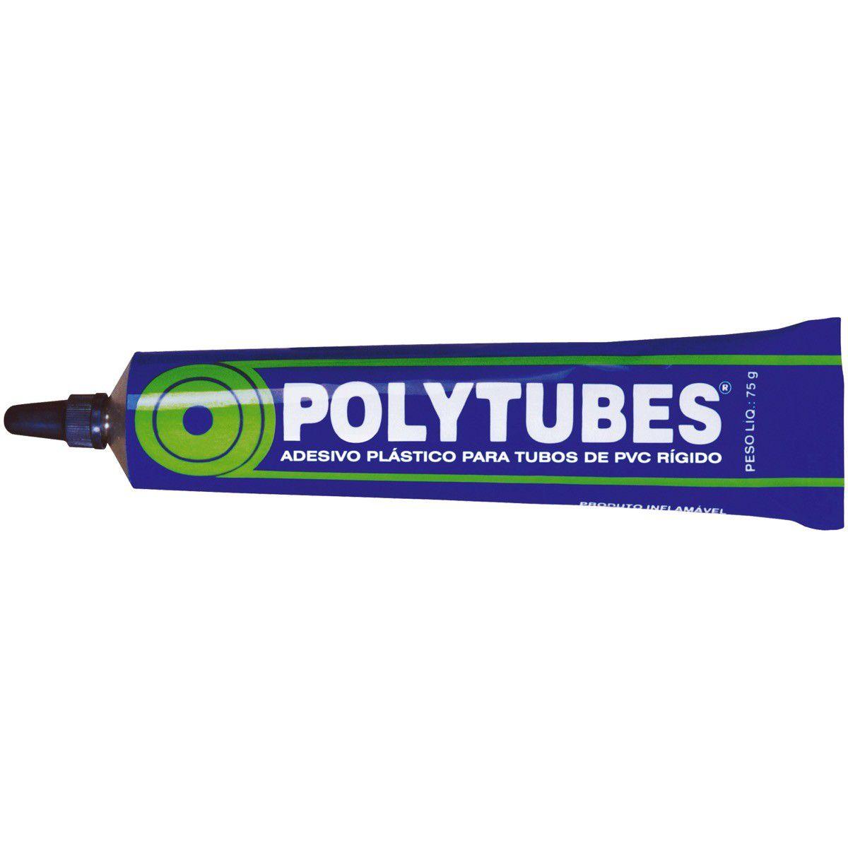 Cola Pvc 75 Cc Polytubes/Pulvitec Cx/30