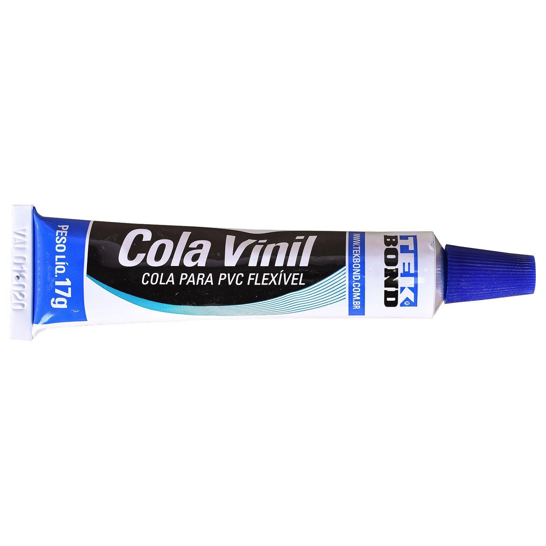 Cola Vinil para PVC Flexível 17g Tekbond