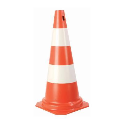 Cone sinalizad 50cm lar/bco
