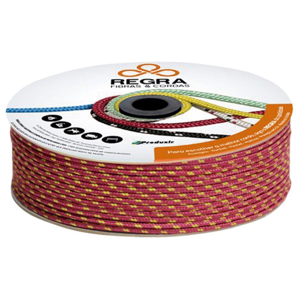 Corda Pet Trancada Color 150Mts 06Mm Regra