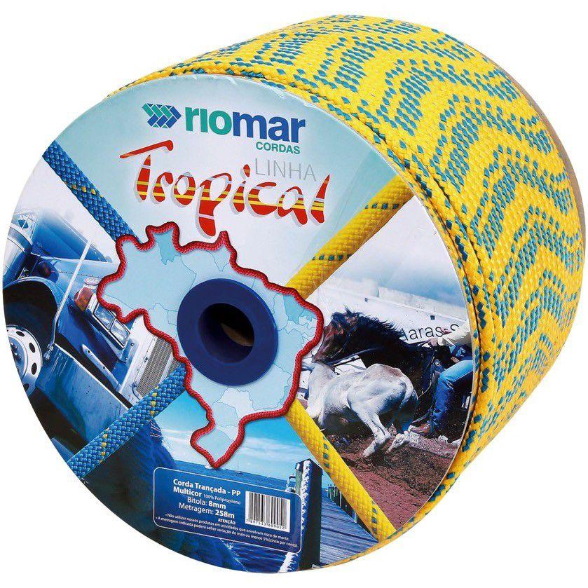 Corda Pp Tropical 08Mm Multicolor Riomar