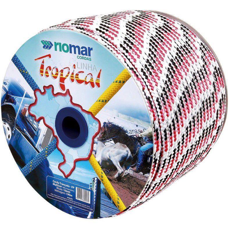 Corda Pp Tropical 10Mm Multicolor Riomar