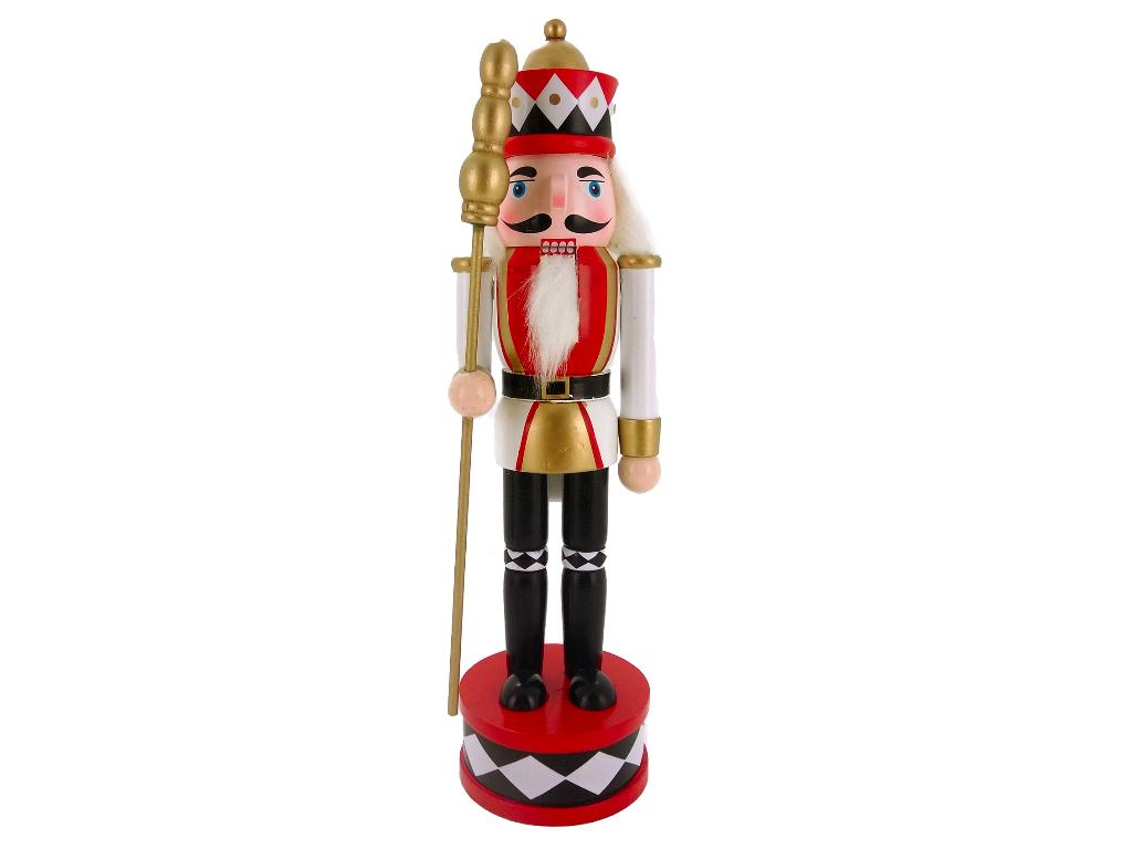 Enfeite Boneco Quebra Nozes Guarda Real 30cm Magizi