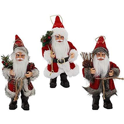 Enfeite Papai Noel 20cm Mix  Magizi