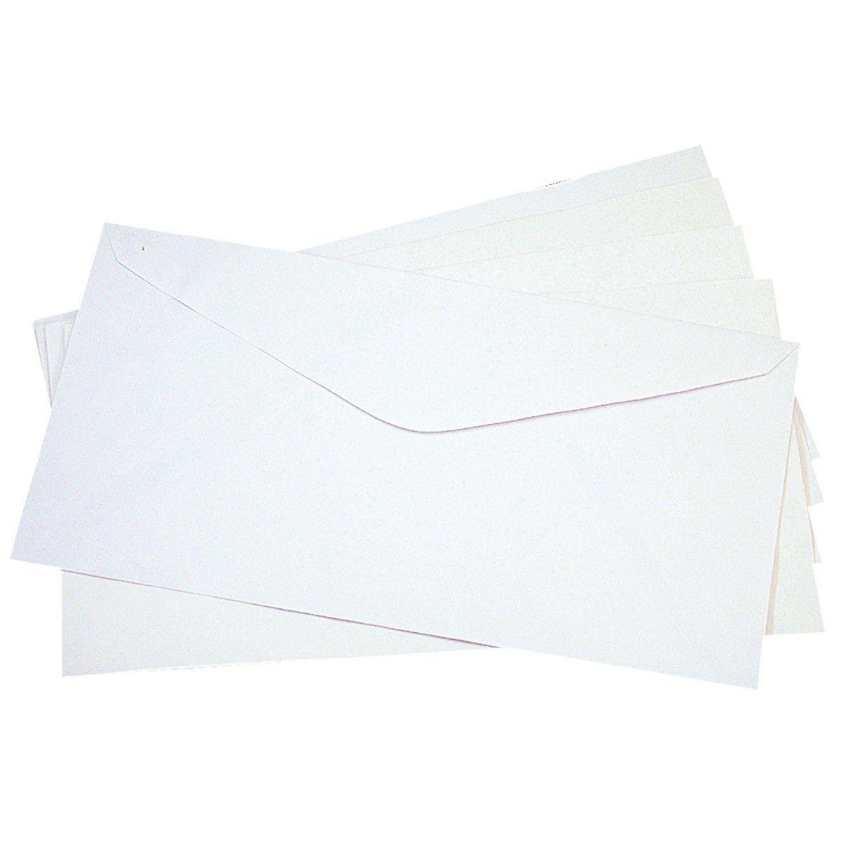 Envelope Oficio Branco S/ Cep 63Gr 114X229 C/1000