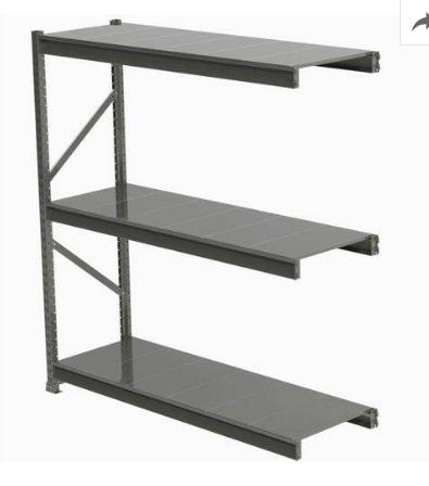 Estante Porta Pallet Slim 200x180 Continuação Plano Metalico
