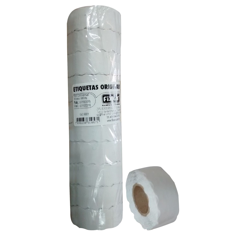Etiqueta de Preço Adesiva  P/ Etiquetadora Jolly  P6 C/1000
