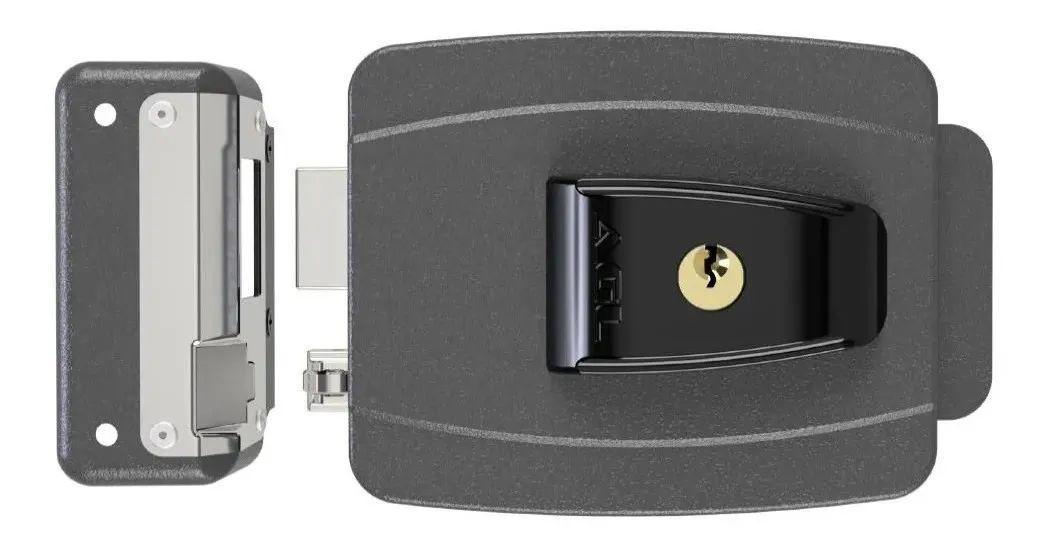 Fechadura Elétrica 12v Reversível 42mm Espelho Al100r AGL