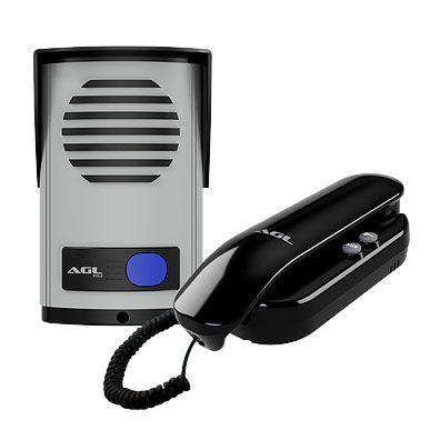 Fechadura Elétrica 12v Reversível  Al100r + Interfone AGL