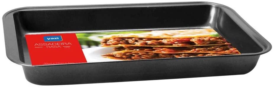 Forma Assadeira Retangular 35x24cm Antiaderente Premium Yazi