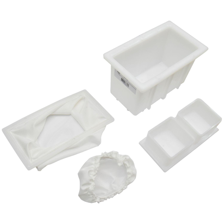 Forma Plastica Kit 4 Completo Queijo Coalho 1000Gr Injesul