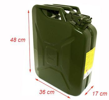 Galão Metal 20L Off Road Verde Combustivel - 6614 Bremen