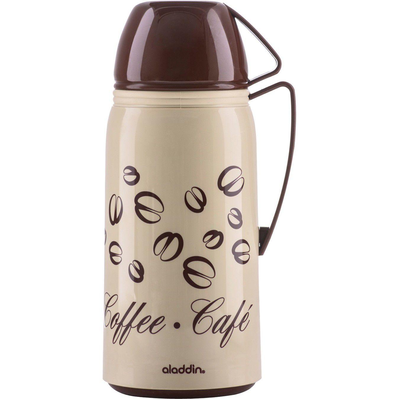 Garrafa Aladdin Coffee 1Litro Rolha Cx/6