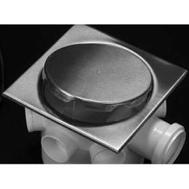 Grelha Inox Invisível Luxo Elegance p/ Ralo 150 mm Mkz