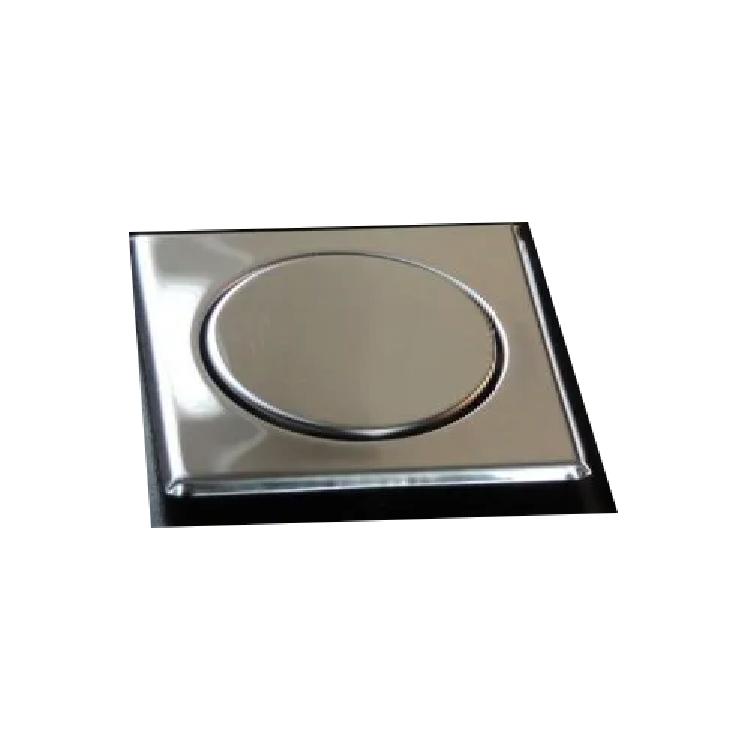 Grelha Inox Invisível Luxo Elegance p/ Ralo 100 mm Mkz