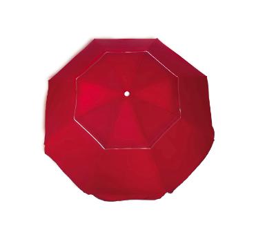 Guarda Sol Ombrelone 2,4m Articulado Lateral + Base  - Brizi