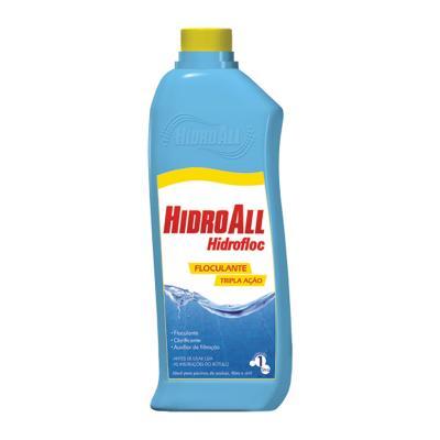 Hidrofloc 1L. Clarificante, Floculante Filtrante Hidroall