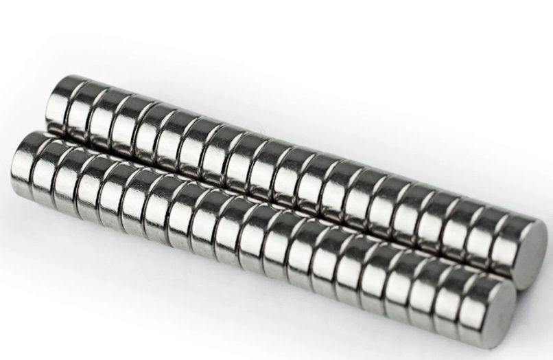 Imãs de Neodímio 8x3mm N52 c/ 1 Unidades