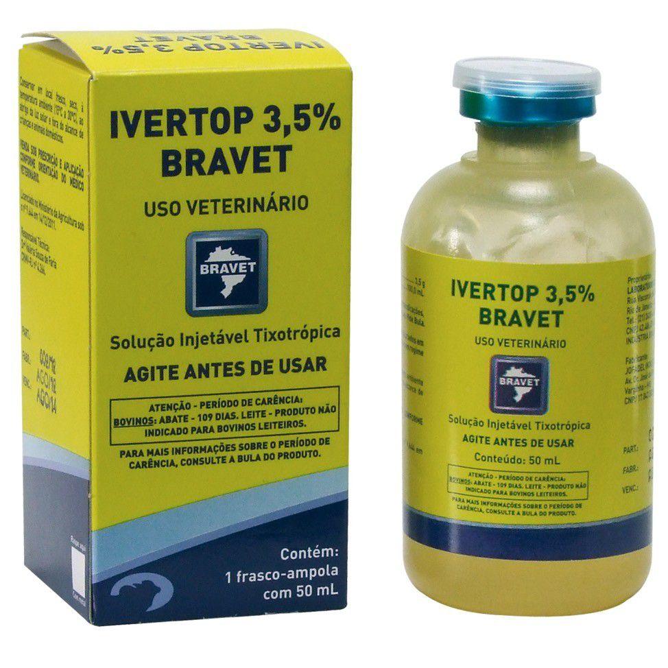 Ivertop Ivermectina 3,5% 50Ml Bravet