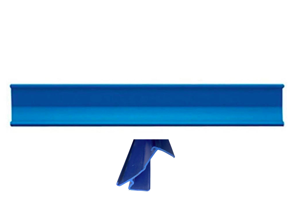 Kit 10Un Regua Perfil Porta Etiqueta Preço SA Gondola 96,5cm