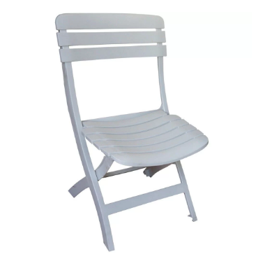Kit 1 Mesa 4 Cadeiras Dobraveis Plastico Antares