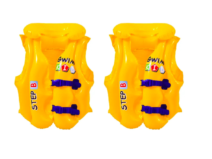 Kit 2 Un Colete Boia Infantil 18 a 30 Kg Top Swin Brizi