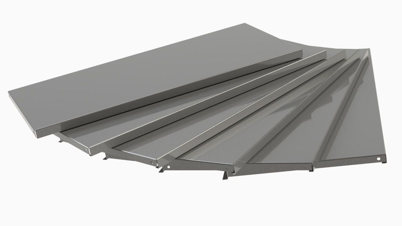 Kit Bandeja P/ Rack Mini Porta Pallet C/6 Sa