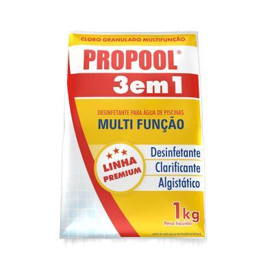 Kit Cloro Clarificante Estabilizador PH Borda Quimic Piscina
