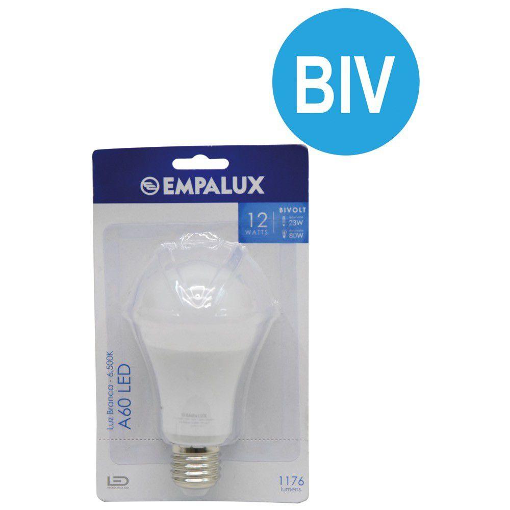 Lampada Led 12W 1176Lm Bivolt 6500K Luz Branca Empalux #Id
