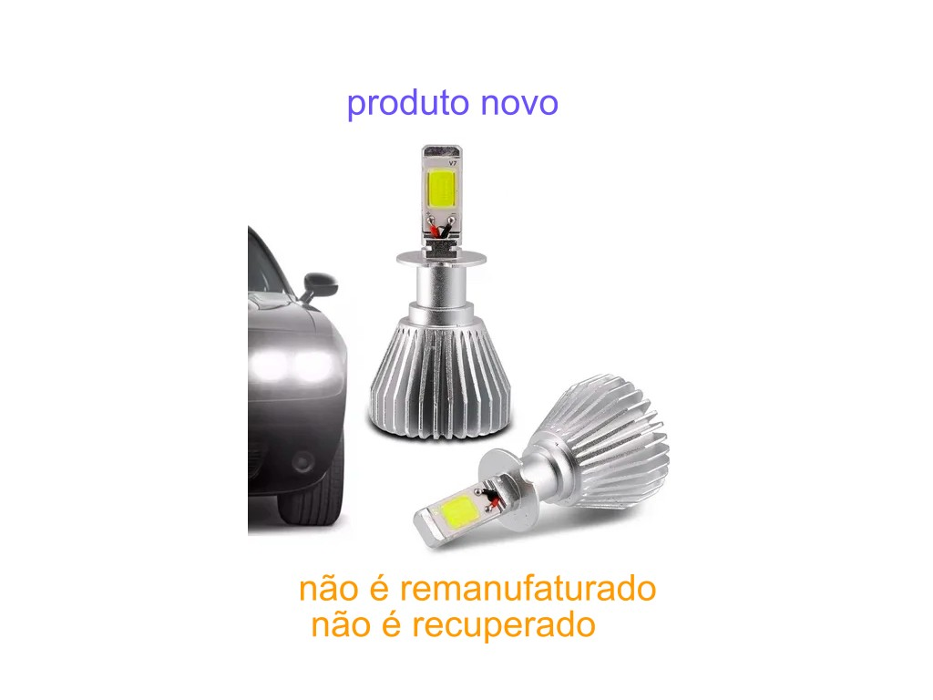 Lampadas NOVA Automotiva H3 30W 6200K Super Led au824 Multil