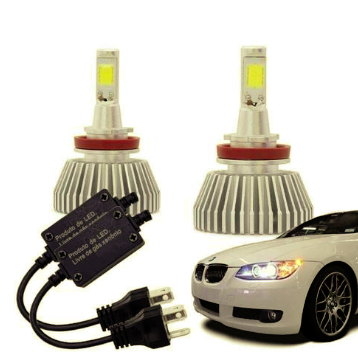 Lampadas Automotiva H7 30W 6200K Super Led au826 Multilaser