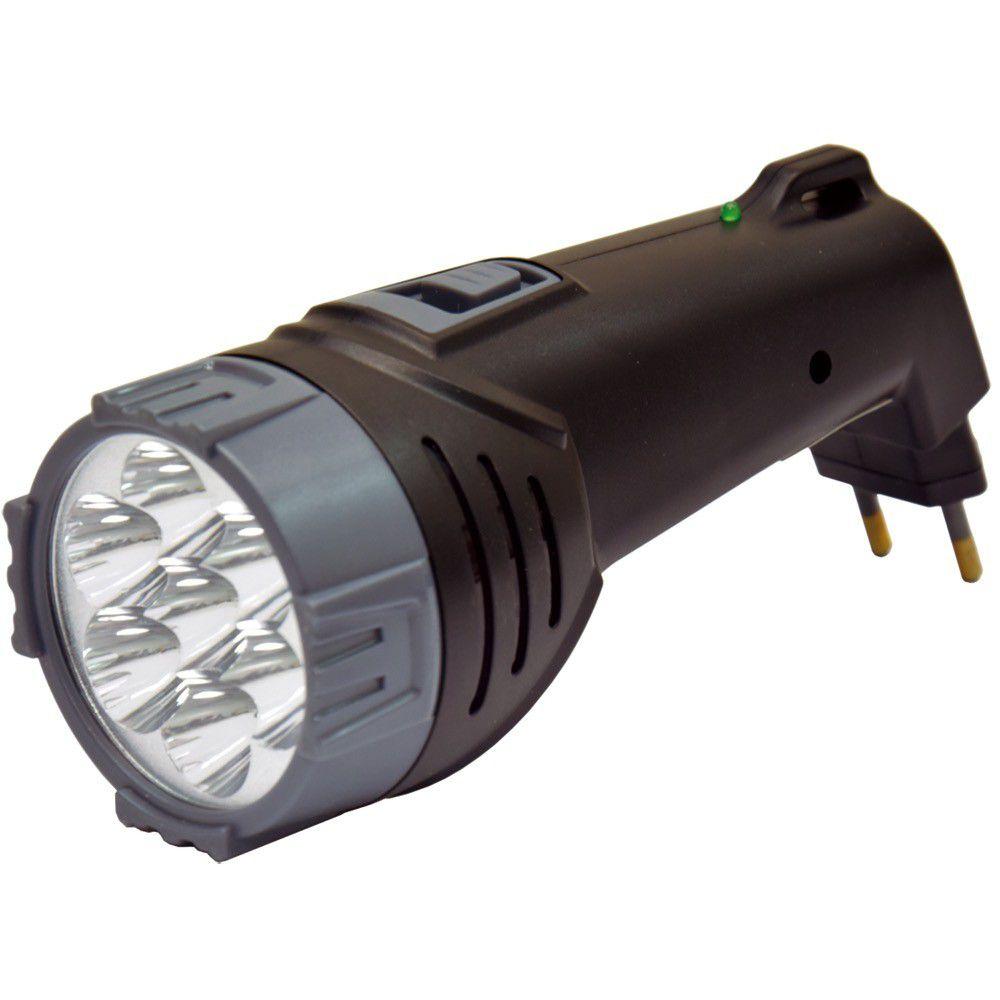 Lanterna Recarregavel 07Leds Bivolt Rayovac