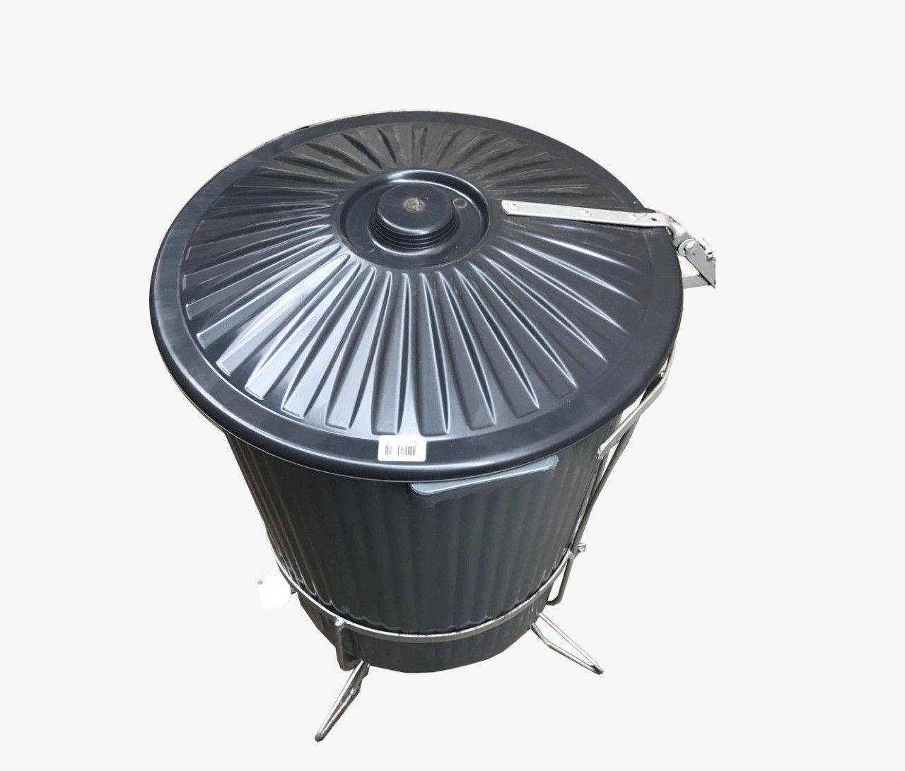 Lixeira Industrial c/ Pedal 60 Litros Popax