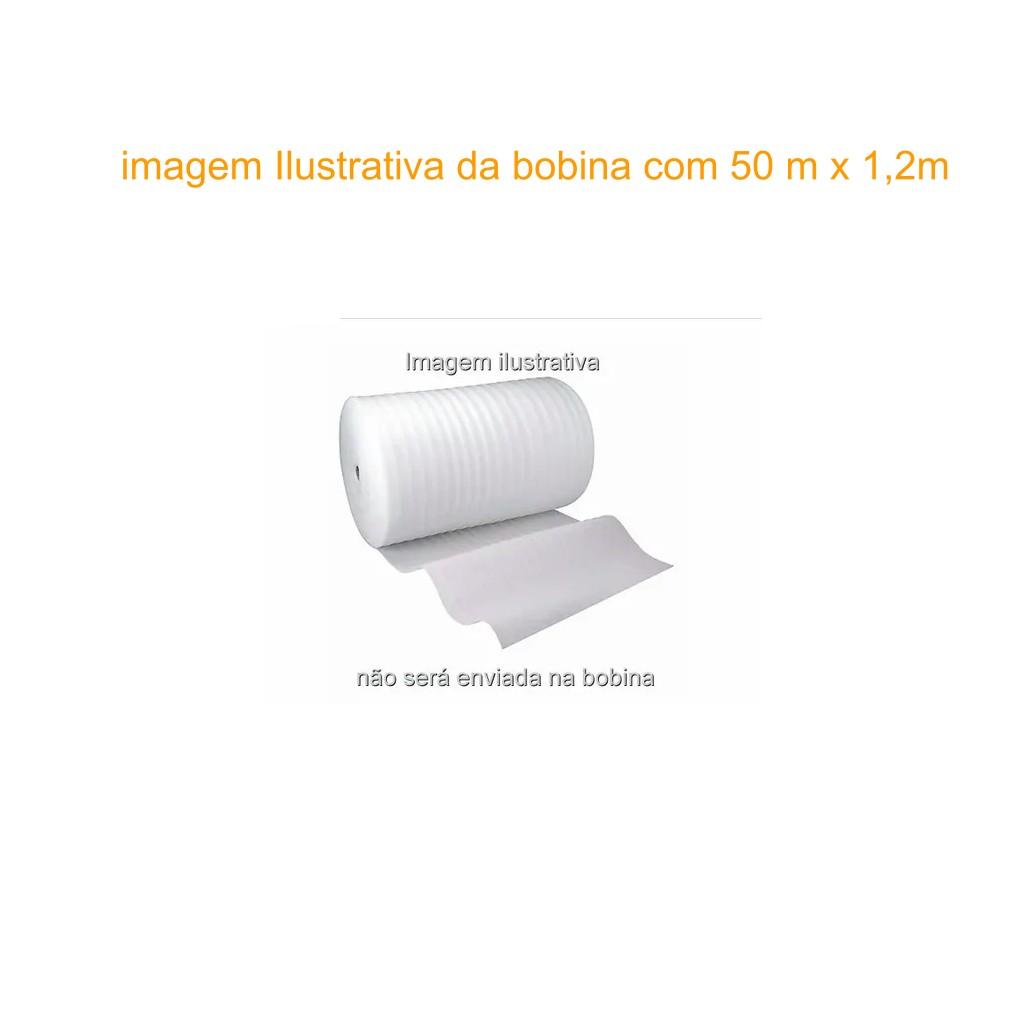 Manta De Polietileno Expandido 2mm  1m x 1,2m Piso Laminado