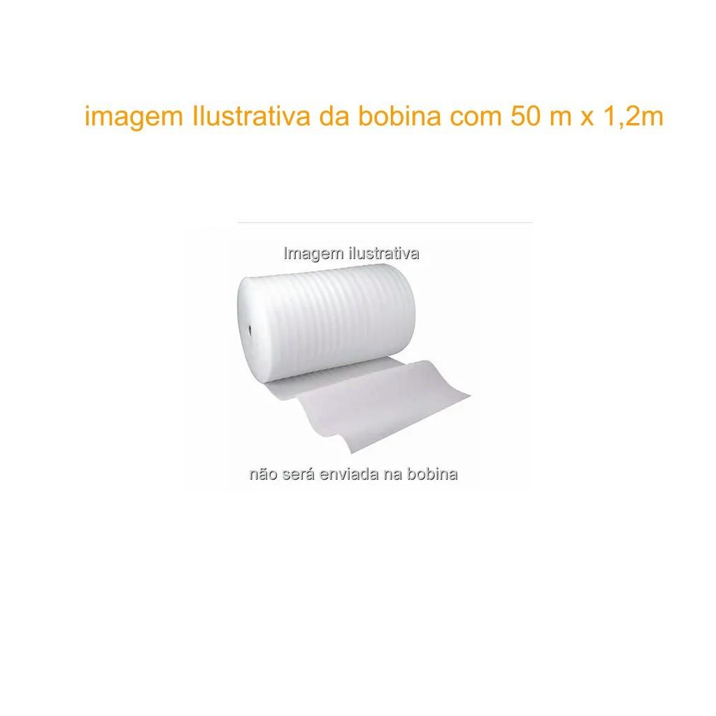 Kit 30m/2 Manta Polietileno Expandido 2mm 25x1,2m Laminado