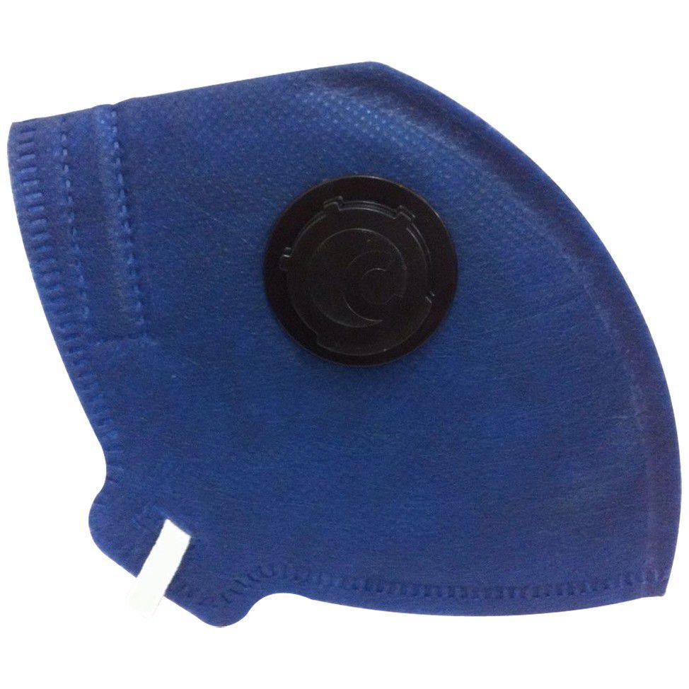 Mascara Protecao Respiratoria Pff2 c/ Valvula Camper c/ 100
