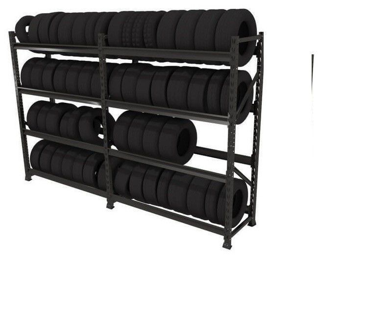 Estante Porta Pallet Slim 200cm Inicial s/ Plano Sa