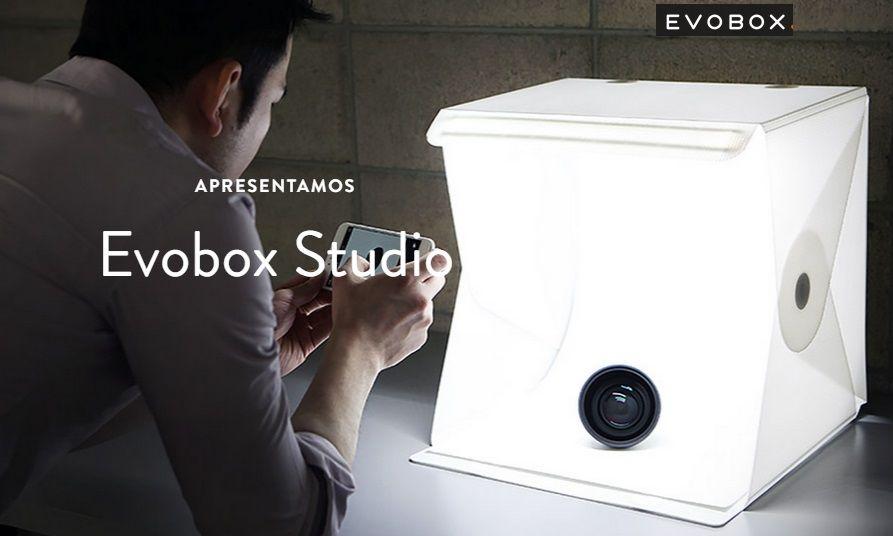 Mini Big Studio Fotografia Evobox Plus 60 Cm Led - Curv