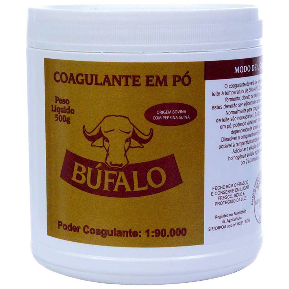 Pepsina Coalho Po Bufalo 500G 1X90.000 Coagulante BV