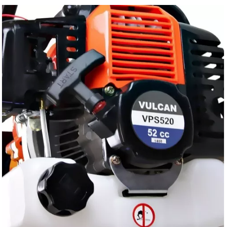 Perfurador De Solo Gasolina 52cc + Broca 200 + Extensor 60 Vulcan
