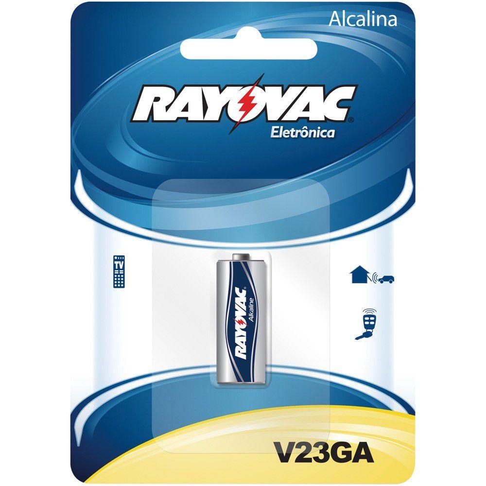 Pilha Rayovac Alcalina P/ Controle Portao 23A 12V
