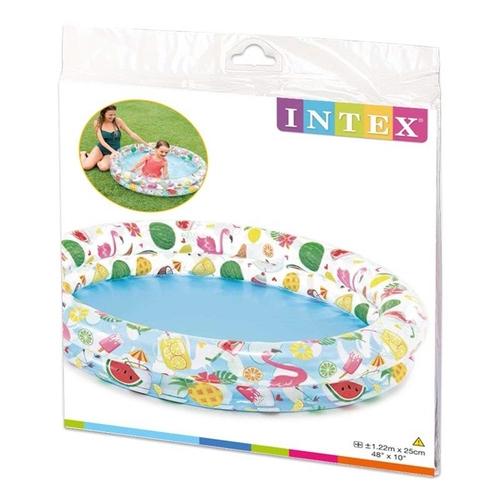 Piscina Inflável Infantil Frutas 150L Intex