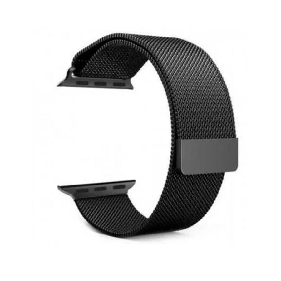 Pulseira Aço Inox p/ Apple Watch 42/44 mm Fecho Magnetico