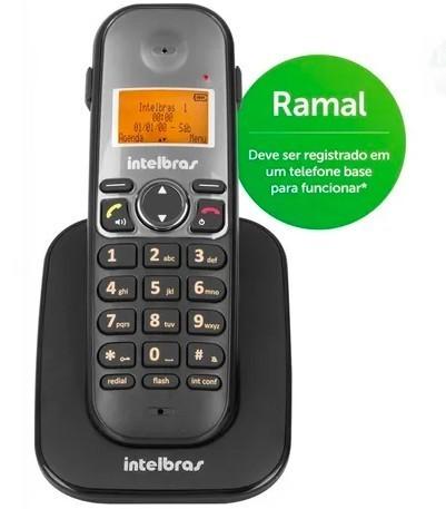 Ramal de telefone Sem Fio Ts5121 Digital Intelbras