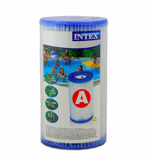 """6 Refil Cartucho Tipo """"A """" p/ Bomba Filtrante 10x20cm Intex"""