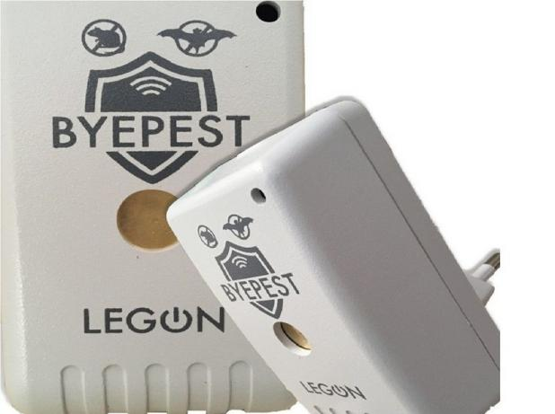 Repelente Sonoro Eletr. Rato, Morcego 127 220v Byepest Legon