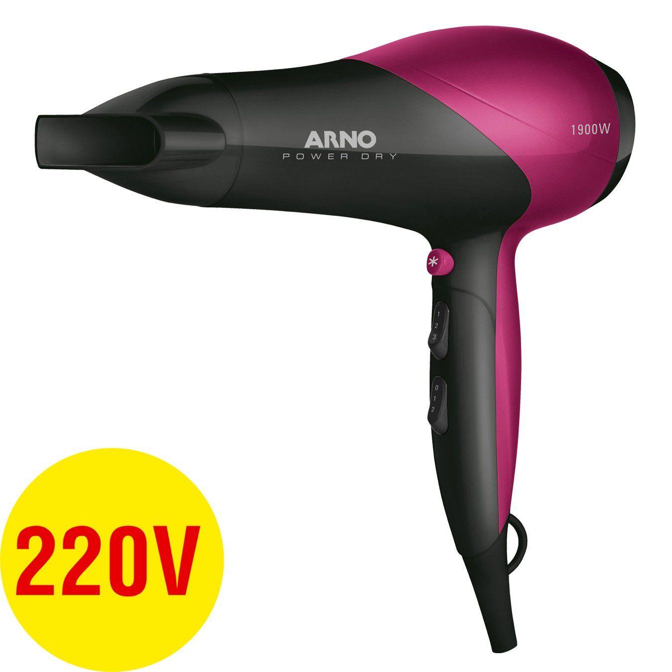 Secador Cabelo Power Dry 220V Arno