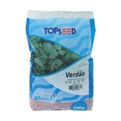 10 Sacos Semente Coentro Verdão 500 g Top Seed