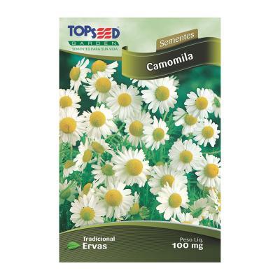 Semente ervas camomila topseed c20