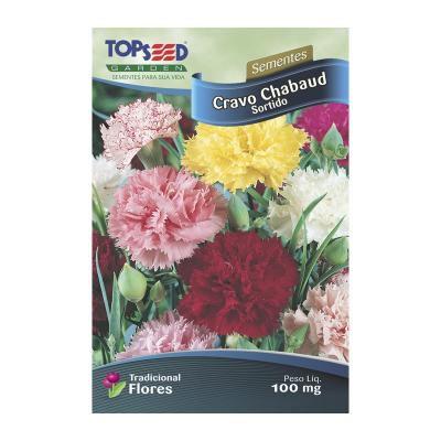 Semente flor cravo chabaud sor c20